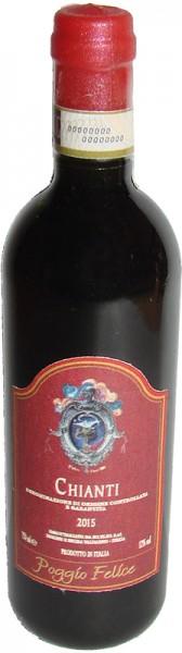 Kühlschrank-Magnet Miniatur - Chianti Rotwein
