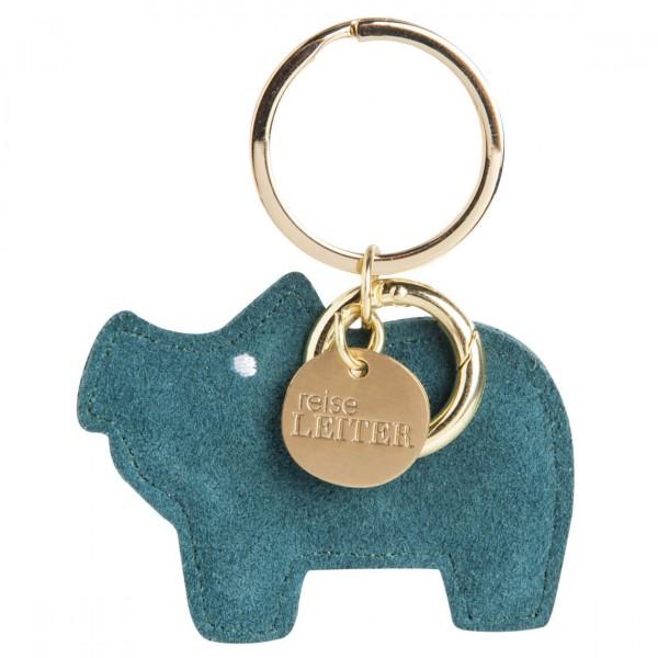 Räder - Schlüsselanhänger - Fernweh Reisebegleiter - Schwein Reiseleiter
