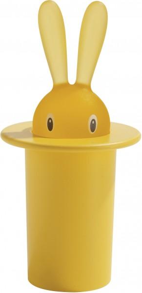 Alessi - Zahnstocherbehälter - Magic Bunny - gelb