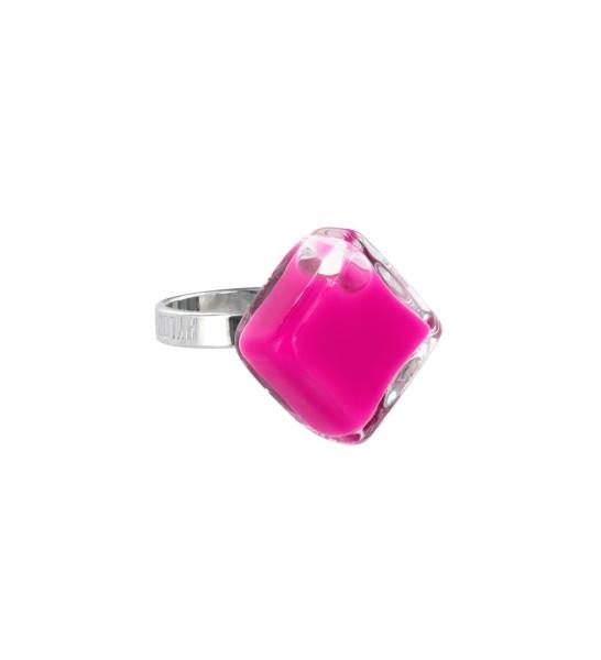 Pylones - Ring - Nano Losange Milk - Flüssigkeit pink