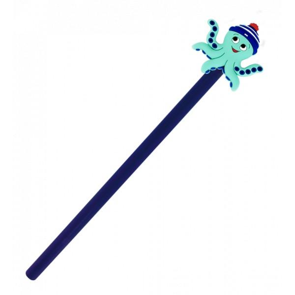 Pylones - Bleistift mit Aufsatz - Anipencil - Octopus Krake