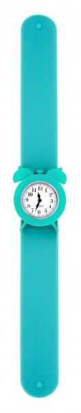 Pylones - Uhr Silikon Reflexarmband - My Time - türkis blau