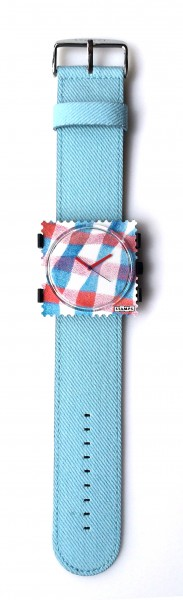 S.T.A.M.P.S. - Armband Denim Light Blue - ohne Uhr - Stamps