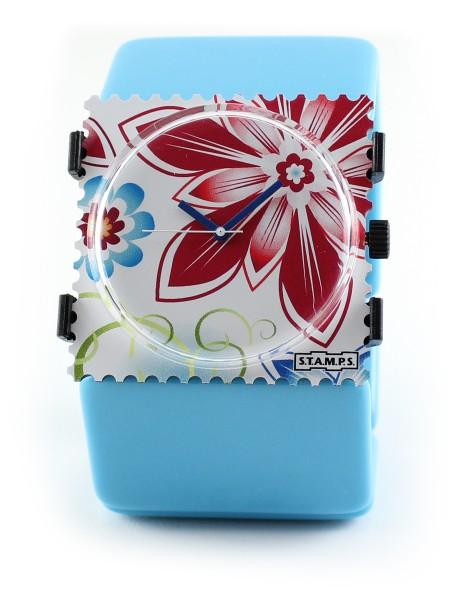 S.T.A.M.P.S. - Armband Belta Light Blue - ohne Uhr - Stamps