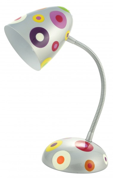 Pylones - Tischlampe - Globe Trotter - Silver Spots