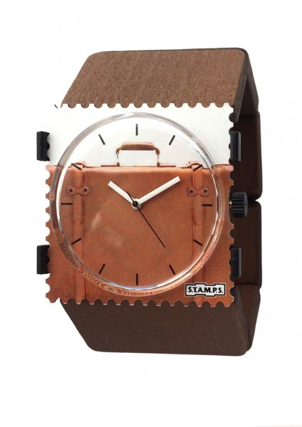 S.T.A.M.P.S. - Armband Belta Wood Brown - ohne Uhr - Stamps