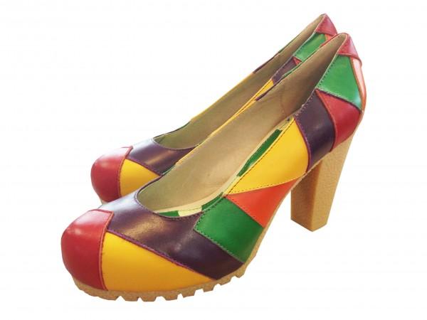 super popular e3d73 70a4b Lola Ramona - Schuhe Pumps - Gie - Leder bunt gemustert