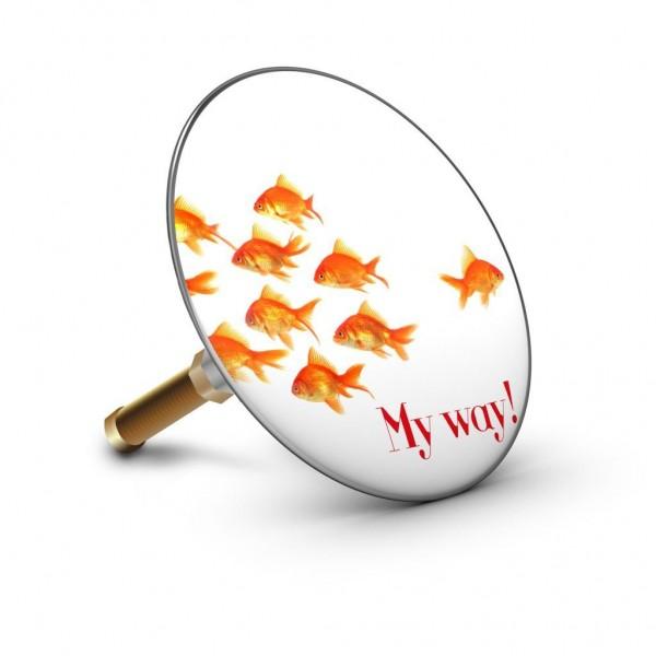 Plopp - Badewannenstöpsel - Bath Plopp - Goldfisch - My Way