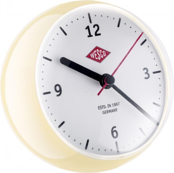 Wesco - Tischuhr Kugel Mini Clock mit Timer-Funktion - mandel