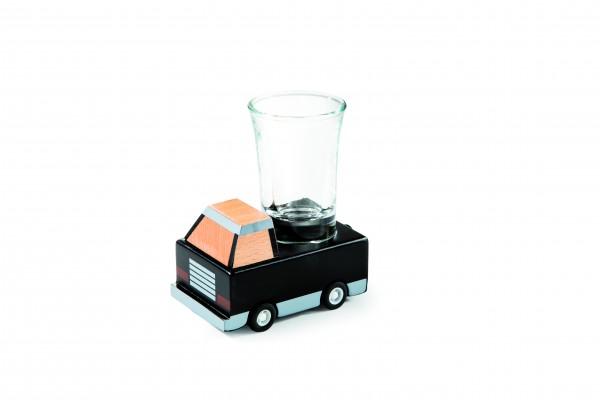 Donkey Products - Trinkspiel Auto mit Schnapsglas - Fluchtwagen