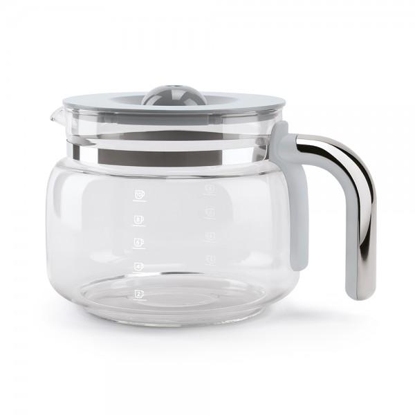 Smeg - Ersatz-Glas Glaskaraffe mit Deckel für Filter-Kaffeemaschine - DGC01