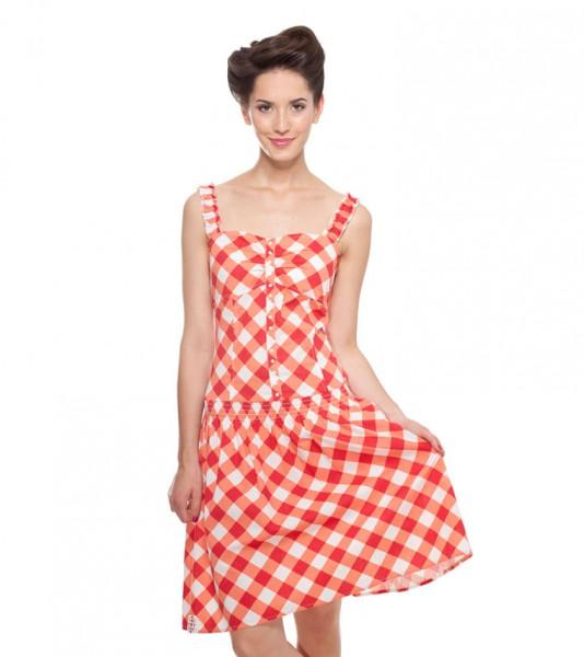 Blutsgeschwister - Weanermadl Dress - Tipsy Vichy