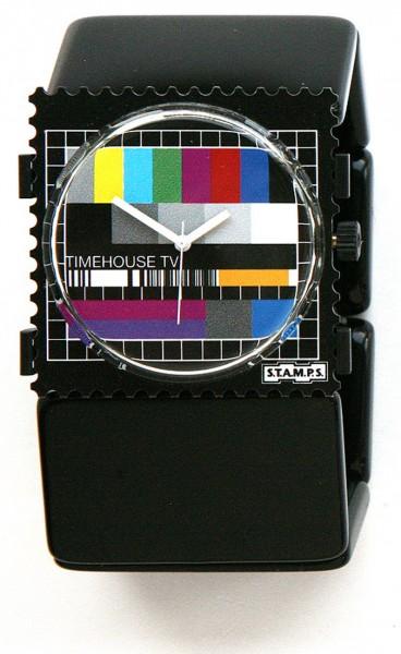 S.T.A.M.P.S. - Armband Belta Schwarz - ohne Uhr - Stamps