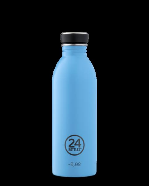 24bottles - Edelstahl-Trinkflasche 500ml - lagoon blau