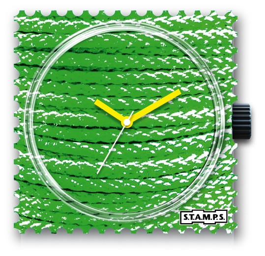 S.T.A.M.P.S. - Uhr - Green Rope - Stamps