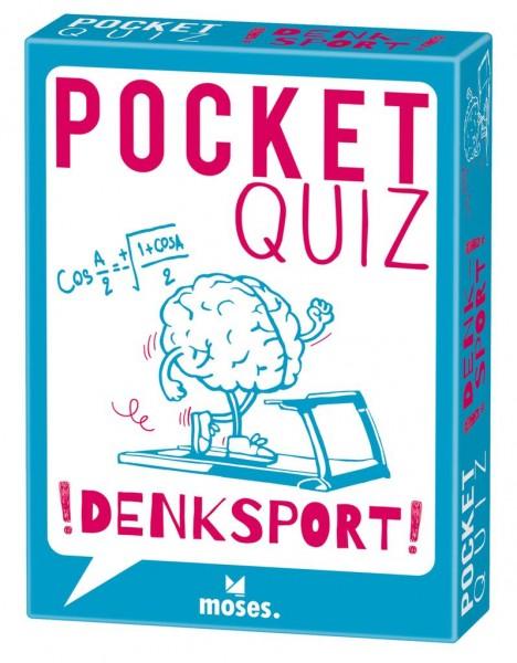 Moses Verlag - Pocket Quiz - Kopftraining Gehirnjogging - Denksport