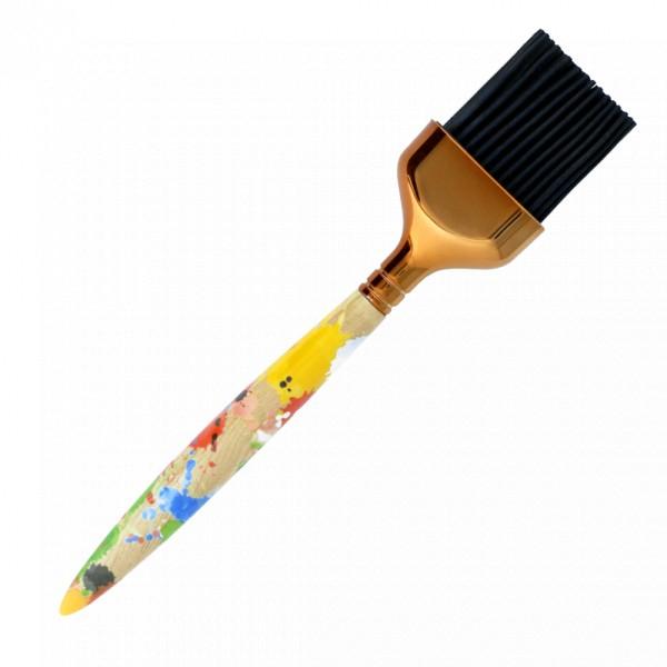 Pylones - Bratenpinsel Backpinsel Silikonpinsel - Malerpinsel-Design - Vernissage - bunt