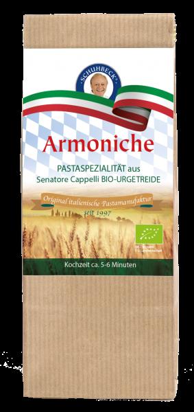 Schuhbecks Gewürze - Pasta Bio Armoniche handgemacht - 500 Gramm