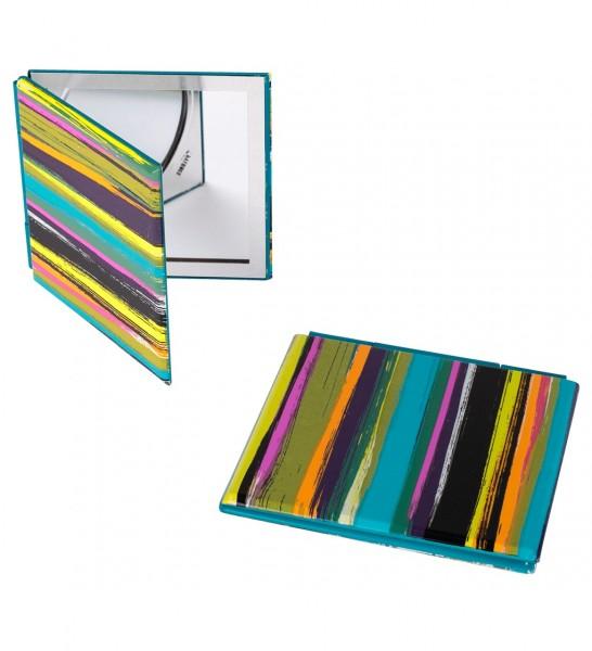 Pylones - Pocket Spiegel - Taschenspiegel - Mimi - Paint Streifen