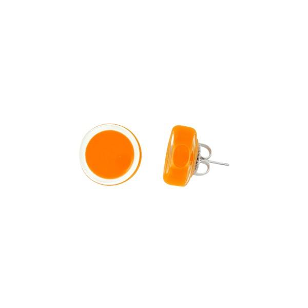 Pylones - Ohrstecker - Clou Cachou Milk - orange