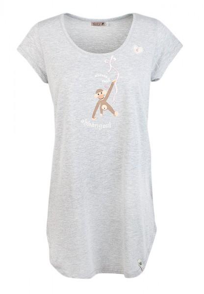 Adelheid - Einfach mal abhängen Nachthemd - silbergrau