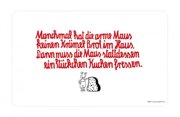 40d9acc8b15b73 Frühstücksbrettchen - Arme Maus