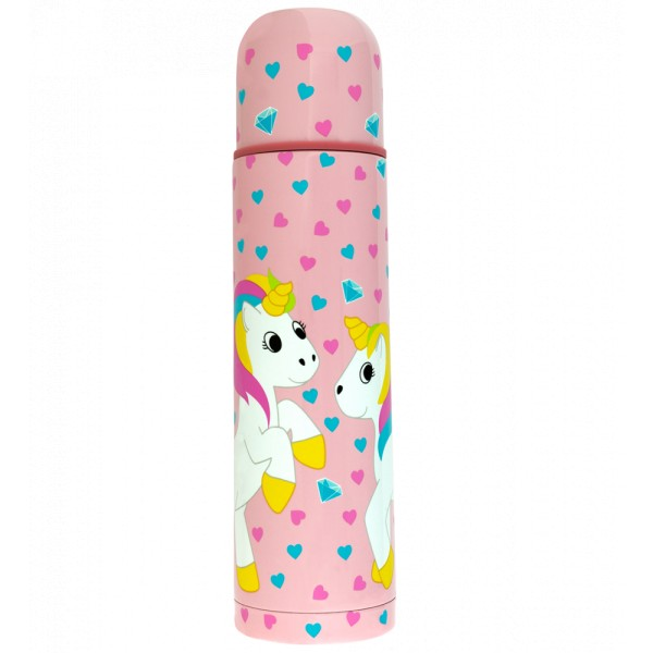 Pylones - Thermoskanne - Mini Keep Cool - Einhorn Pink Unicorn