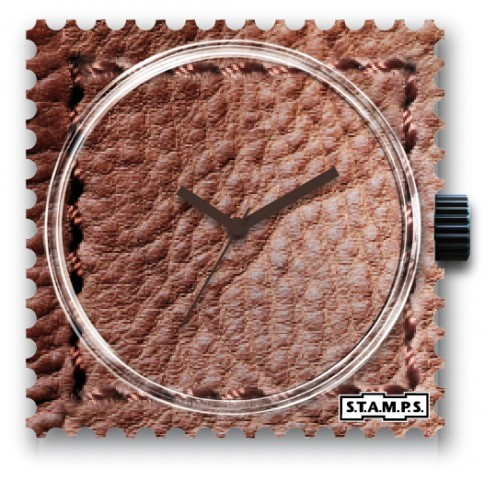 S.T.A.M.P.S. - Uhr - Leather Case - Stamps