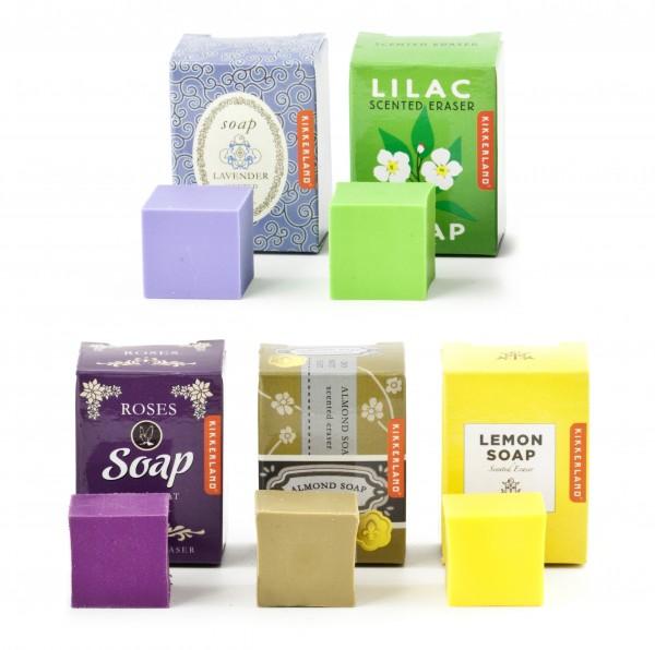 Kikkerland - Radiergummi mit Geruchsaromen Seife