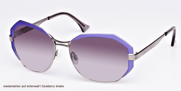Blutsgeschwister - Sonnenbrille Wonderglasses - Wiedersehen auf Entenwall - blueberry shake violett