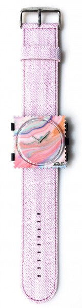 S.T.A.M.P.S. - Armband Denim Rose - ohne Uhr - Stamps