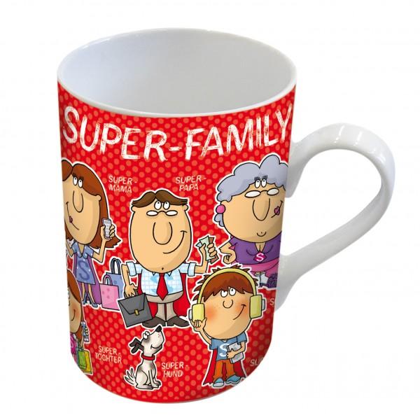 Tasse - Kaffeetasse - Familie - Super Family