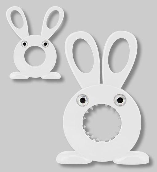 Pylones - Eischneider - Eierköpfer Hase - Cutty - weiß