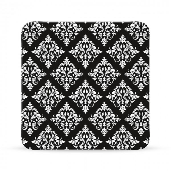 gruss und co kork untersetzer ornamente schwarz wei sheepworld untersetzer originelle. Black Bedroom Furniture Sets. Home Design Ideas