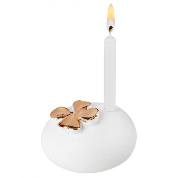 Räder - Mini-Kerzenhalter - Giving Wunschkerze - Kleeblatt