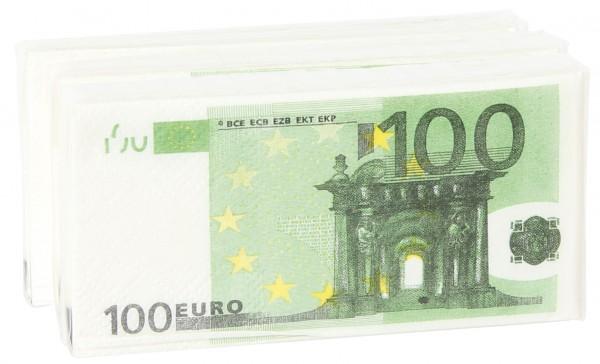Notizblock Geldschein Euroschein 100 Euro Schein Pigmento Kunst