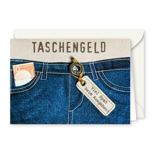 Gruss Und Co Knopfkarte Geldgeschenk Jeans Taschengeld