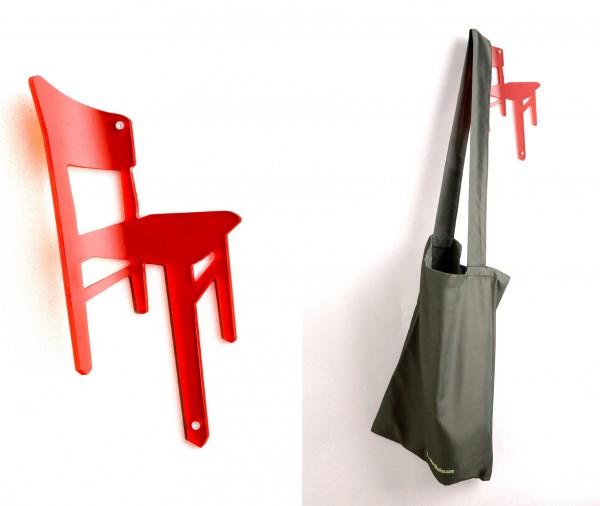 pa Design - Wandhaken - Kleiderhaken Stuhl - Hang On