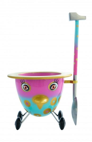 Pylones - Eierbecher - Rolling Egg - Cocotte - Lila
