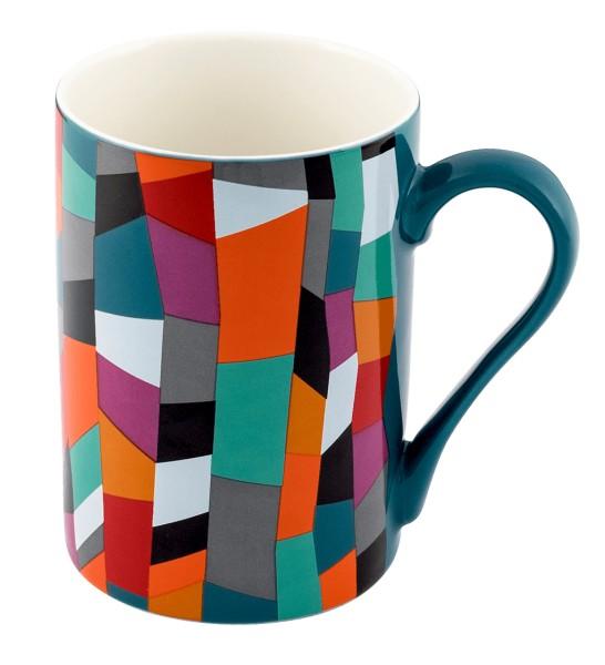 317c0b6ed82 Pylones - Tasse Becher Kaffeetasse - Schluck - Accordeon, bunte ...