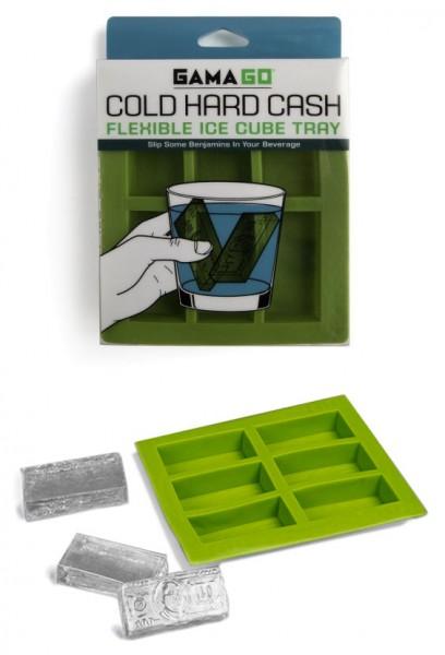 Invotis - GamaGo - Eiswürfelformen Geldscheine - Cold Hard Cash