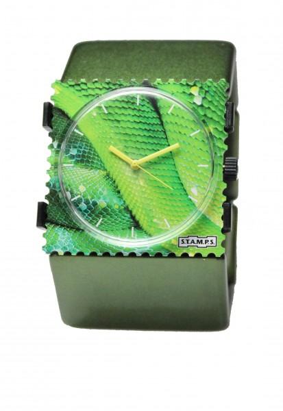 S.T.A.M.P.S. - Armband Belta Metallic Grün - ohne Uhr - Stamps