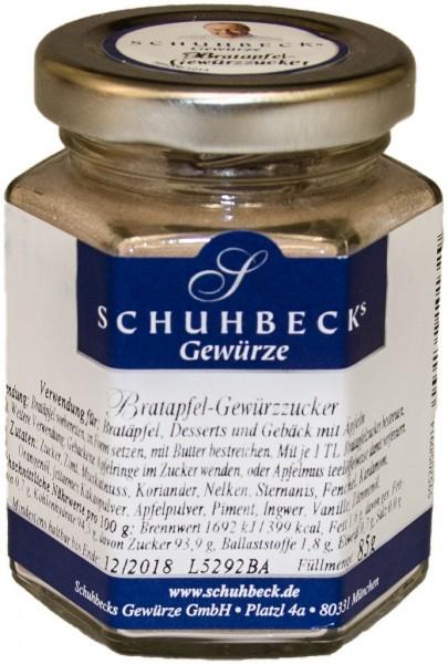 Schuhbecks Gewürze - Gewürzmischung - Bratapfel Gewürzzucker 85 Gramm
