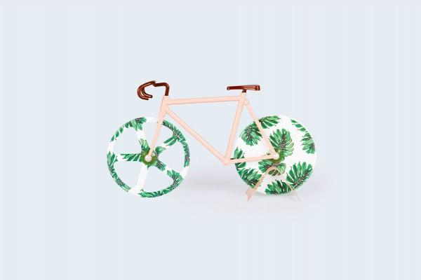 doiy - Pizzaschneider Fahrrad - Fixie Pizza Cutter - Tropical