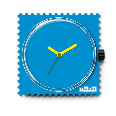 S.T.A.M.P.S. - Uhr - Funky Blue - Stamps