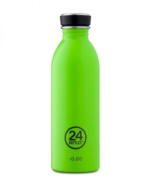 24bottles - Edelstahl-Trinkflasche 500ml - lime green grün