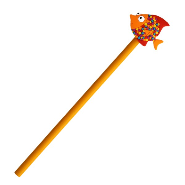 Pylones - Bleistift mit Aufsatz - Anipencil - Tropical Fish Fisch