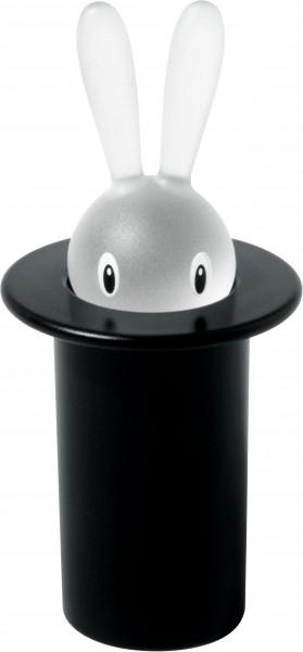 Alessi - Zahnstocherbehälter - Magic Bunny - schwarz