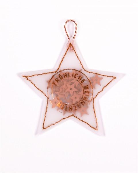 Stern Weihnachten.Konfetti Stern Mini Stern Gefüllt Mit Konfetti Fröhliche Weihnachten