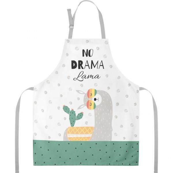 Gruss und Co - Kochschürze Küchenschürze - No Drama Lama